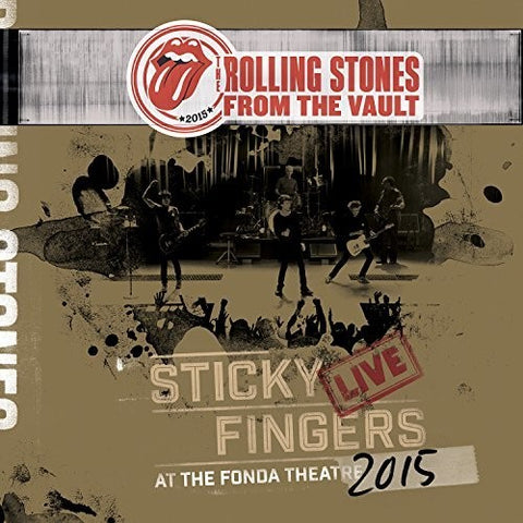 <b>The Rolling Stones </b><br><i>Sticky Fingers Live At The Fonda Theatre</i>