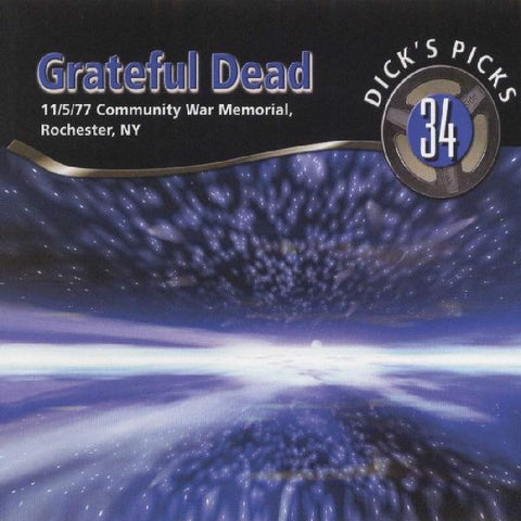 <b>Grateful Dead </b><br><i>Dick's Picks 34: 11/5/77 Community War Memorial, Rochester, NY [6-lp Box Set]</i>