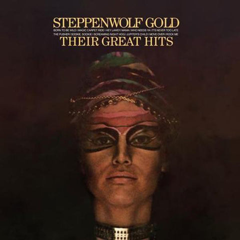 <b>Steppenwolf </b><br><i>Gold (Their Great Hits) [2-lp, 45 RPM]</i>