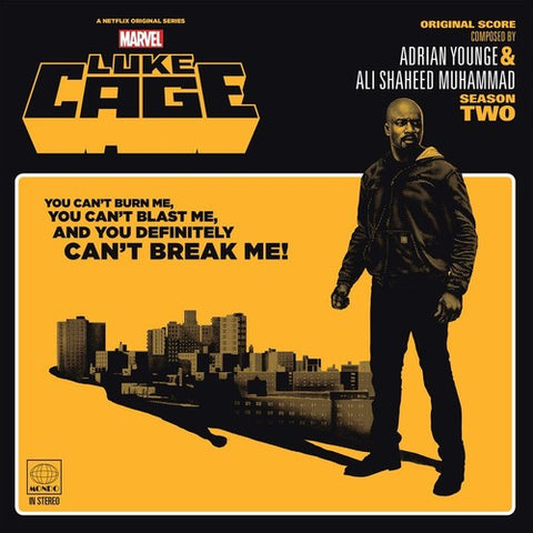 <b>Adrian Younge & Ali Shaheed Muhammad </b><br><i>Marvel's Luke Cage Season Two - Original Soundtrack</i>