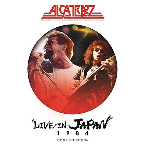 <b>Alcatrazz </b><br><i>Live In Japan 1984 Complete Edition</i>