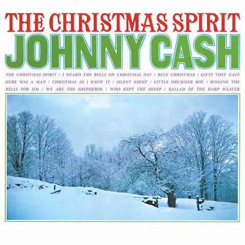 <b>Johnny Cash </b><br><i>The Christmas Spirit</i>