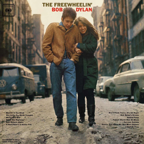 <b>Bob Dylan </b><br><i>The Freewheelin' Bob Dylan</i>