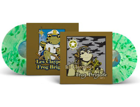 <b>Colonel Les Claypool's Fearless Flying Frog Brigade </b><br><i>Live Frogs Set 1 & 2</i>