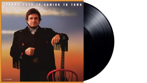 <b>Johnny Cash </b><br><i>Johnny Cash Is Coming To Town</i>