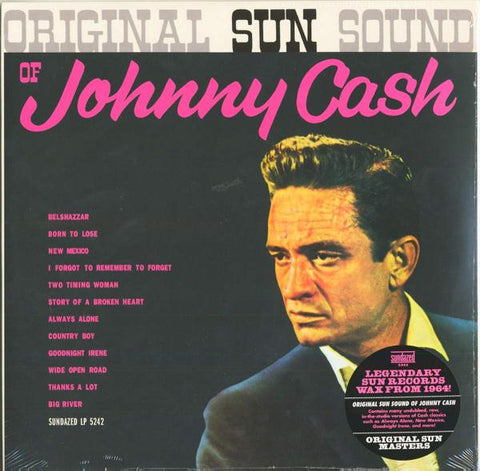 <b>Johnny Cash </b><br><i>Original Sun Sound Of Johnny Cash</i>