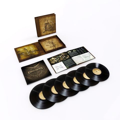 <b>Howard Shore </b><br><i>The Lord of the Rings: The Motion Picture Trilogy Soundtrack [6LP Box Set, Black Vinyl]</i>