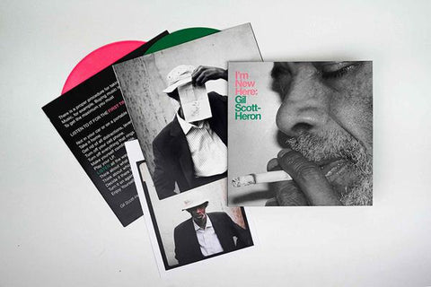 <b>Gil Scott-Heron </b><br><i>I'm New Here [10th Anniversary Expanded Edition] [Colored Vinyl]</i>