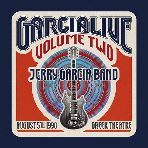<b>Jerry Garcia Band </b><br><i>Garcialive Volume Two: August 5th, 1990 Greek Theatre</i>