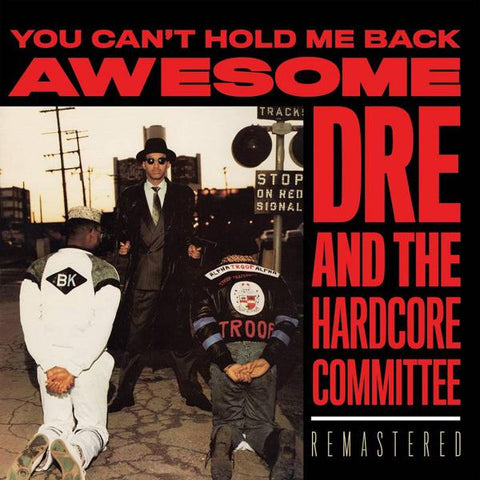 <b>Awesome Dre & The Hardcore Committee </b><br><i>You Can't Hold Me Back</i>