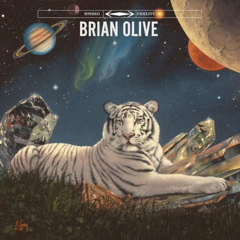 <b>Brian Olive </b><br><i>Living On Top [Blue OR White Vinyl]</i>