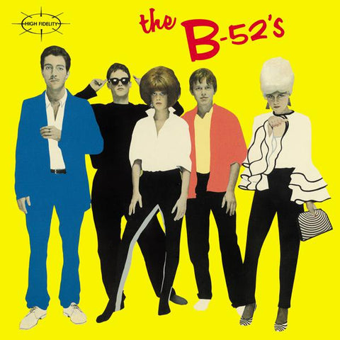 <b>The B-52's </b><br><i>The B-52's [Yellow Vinyl][Back To The 80's Exclusive] </i><br>Release Date : 07/03/2018