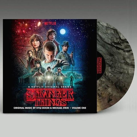 <b>Kyle Dixon, Michael Stein </b><br><i>Stranger Things Volume One (A Netflix Original Series)<br>Indie Clear With Smoke Colored Vinyl</i>