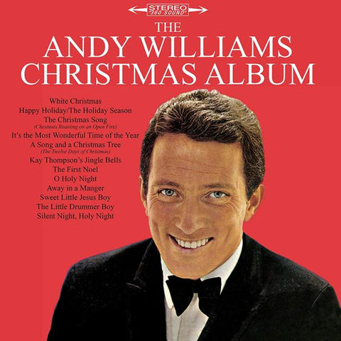 <b>Andy Williams </b><br><i>The Andy Williams Christmas Album [Blue Vinyl]</i>