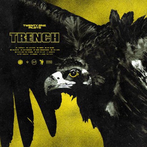 <b>Twenty One Pilots </b><br><i>Trench [Indie-Exclusive 2LP Olive Green Vinyl w/ Download] </i><br>Release Date : 10/05/2018