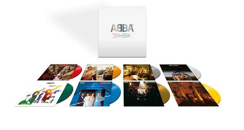 <b>ABBA </b><br><i>The Studio Albums [8-lp Colored Vinyl Box Set]</i>
