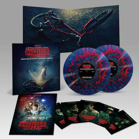 <b>Kyle Dixon & Michael Stein </b><br><i>Stranger Things Deluxe Edition Vinyl Vol 1 </i><br>Release Date : 07/14/2017
