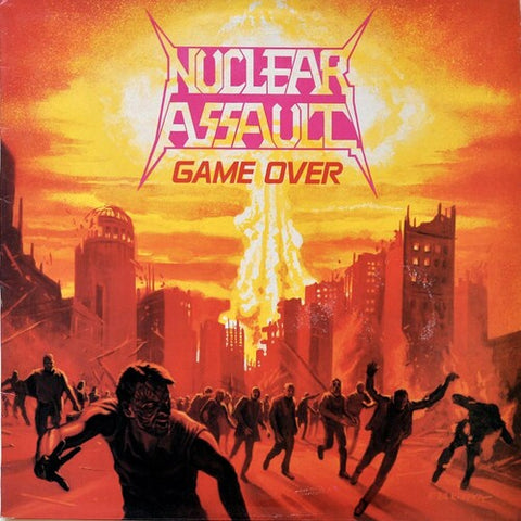 <b>Nuclear Assault </b><br><i>Game Over [Indie-Exclusive Orange/Clear Splatter Vinyl]</i>