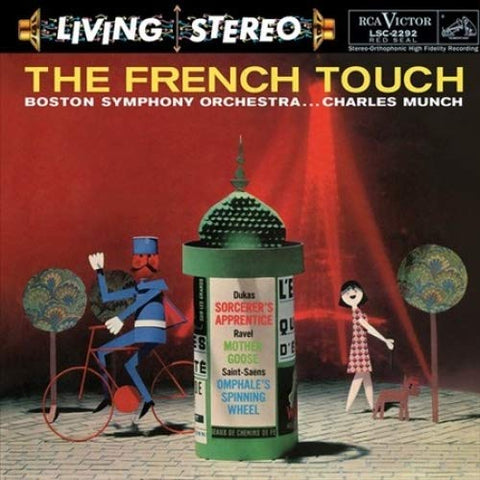 <b>Charles Munch & Boston Symphony Orchestra </b><br><i>The French Touch</i>