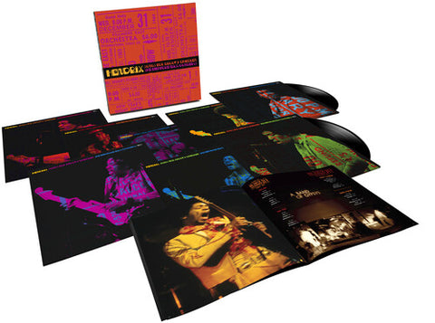 <b>Jimi Hendrix </b><br><i>Songs For Groovy Children: The Fillmore East Concerts [8LP Box Set]</i>