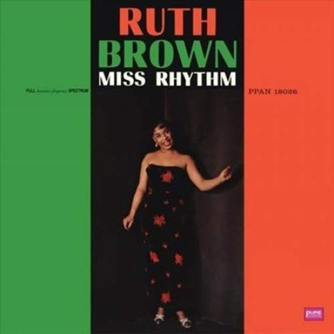 <b>Ruth Brown </b><br><i>Miss Rhythm</i>