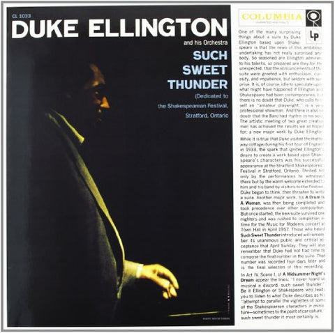 <b>Duke Ellington And His Orchestra </b><br><i>Such Sweet Thunder</i>