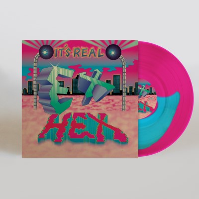 <b>Ex Hex </b><br><i>It's Real [Indie-Exclusive Blue Vinyl]</i>