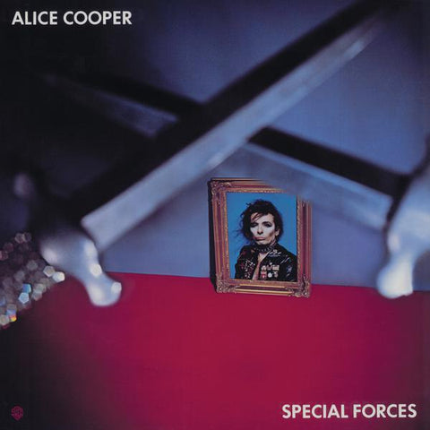<b>Alice Cooper </b><br><i>Special Forces [Blue Vinyl] [ROCKtober 2017 Exclusive]</i>