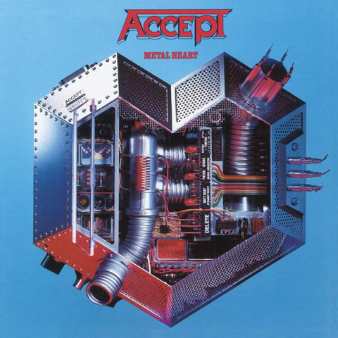 <b>Accept </b><br><i>Metal Heart [Import]</i>