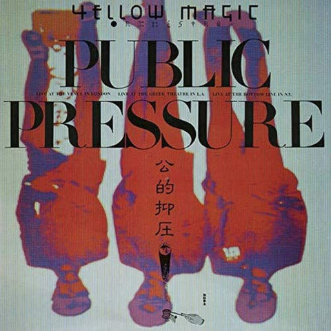 <b>Yellow Magic Orchestra </b><br><i>Public Pressure: Standard Vinyl Edition</i>