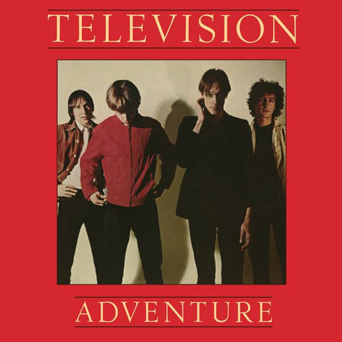 <b>Television </b><br><i>Adventure [Red Vinyl SYEOR Exclusive]</i>