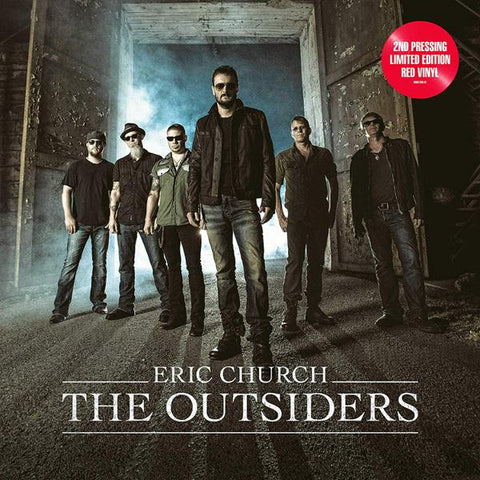 <b>Eric Church </b><br><i>The Outsiders [Red Vinyl]</i>