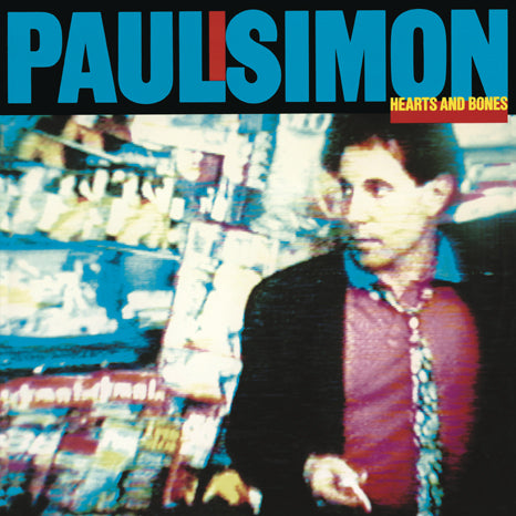 <b>Paul Simon </b><br><i>Hearts And Bones</i>