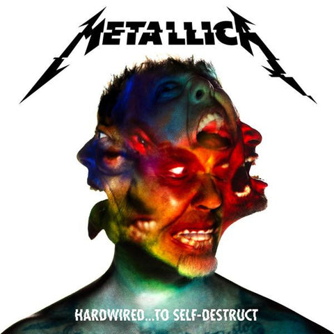 <b>Metallica </b><br><i>Hardwired...To Self-Destruct<br>Indie-Exclusive Red Vinyl</i>