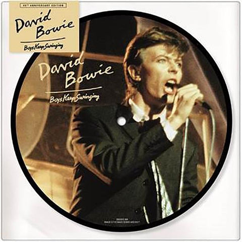 "<b>David Bowie </b><br><i>Boys Keep Swinging [7"" Picture Disc]</i>"