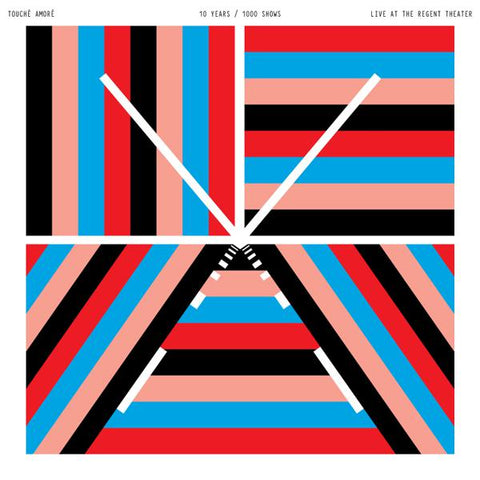 <b>Touche Amore </b><br><i>10 Years / 1000 Shows  Live at the Regent Theater</i>
