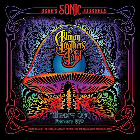 <b>Allman Brothers </b><br><i>Bear's Sonic Journals: Fillmore East, February 1970 [Black Vinyl, non-RSD version]</i>