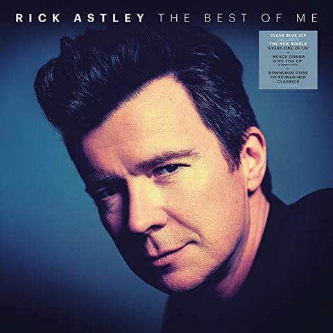 <b>Rick Astley </b><br><i>The Best Of Me [Import] [Blue Vinyl]</i>