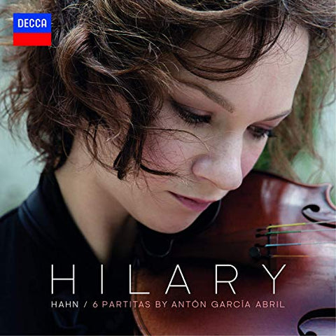 <b>Hilary Hahn </b><br><i>Garcia Abril: 6 Partitas</i>