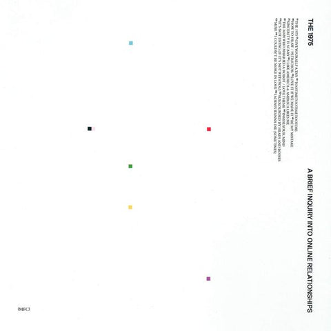 <b>The 1975 </b><br><i>A Brief Inquiry Into Online Relationships [Indie-Exclusive White Vinyl]</i>