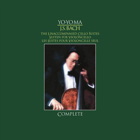 <b>Yo-Yo Ma </b><br><i>J.S. Bach - Unaccompanied Cello Suites (Complete) [Import]</i>