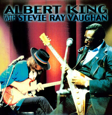 <b>Albert King With Stevie Ray Vaughan </b><br><i>In Session</i>
