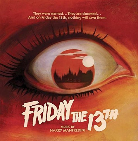 <b>Harry Manfredini </b><br><i>Friday The 13th [All Of Our Copies Have Split Seams, Will Rebate 15% After Order] [Colored Vinyl]</i>