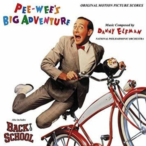 <b>Danny Elfman </b><br><i>Pee-Wee's Big Adventure / Back To School - Original Motion Picture Scores</i>