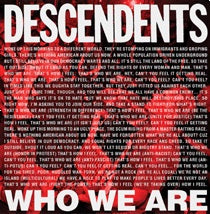 <b>Descendents </b><br><i>Who We Are</i>