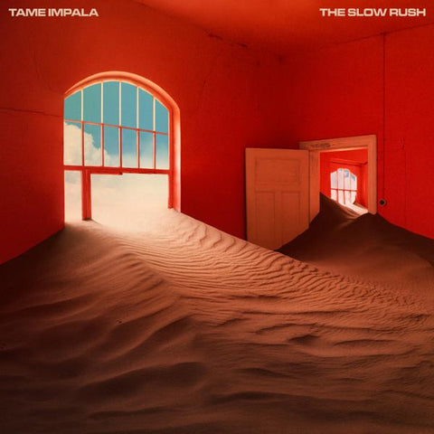 <b>Tame Impala </b><br><i>The Slow Rush [Indie-Exclusive Red/Light Blue Vinyl]</i>