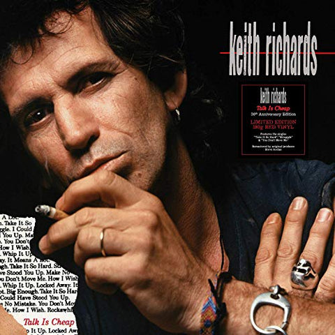 <b>Keith Richards </b><br><i>Talk is Cheap [Red Vinyl]</i>