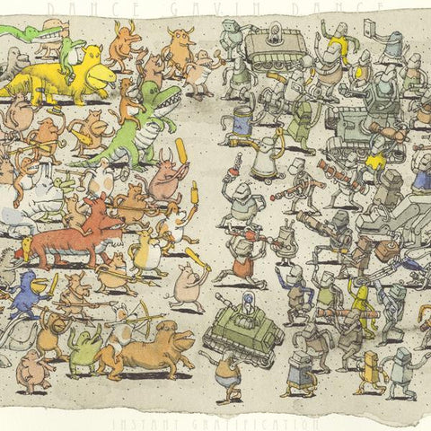 <b>Dance Gavin Dance </b><br><i>Instant Gratification</i>