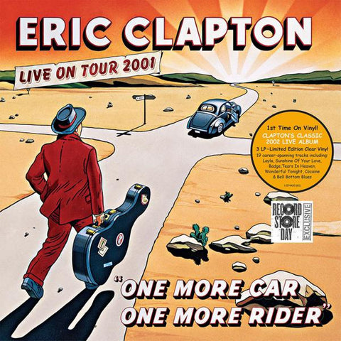 <b>Eric Clapton </b><br><i>One More Car One More Rider</i>