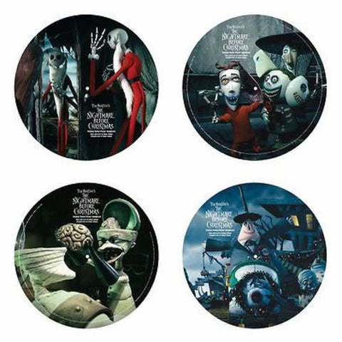 <b>Danny Elfman </b><br><i>Tim Burton's The Nightmare Before Christmas (Original Motion Picture Soundtrack) [Picture Disc]</i>